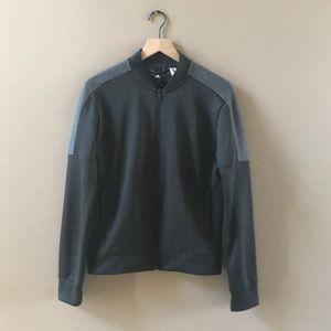 Adidas women's climawarm fleece jacket Sz M